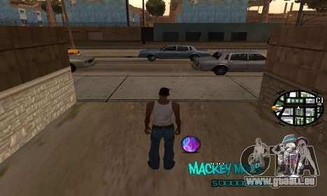 C-HUD Mickey Mouse für GTA San Andreas