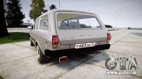 GAZ 31022 rims2 pour GTA 4 Vue arrière de la gauche