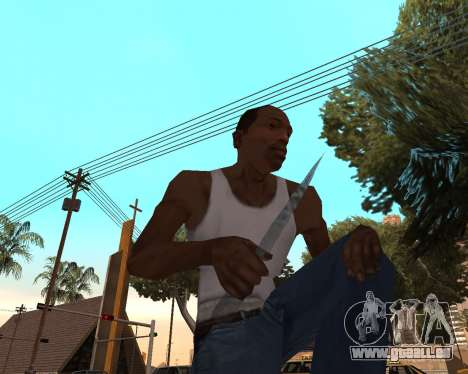 Neues Jahr-Waffen-pack v2 für GTA San Andreas dritten Screenshot