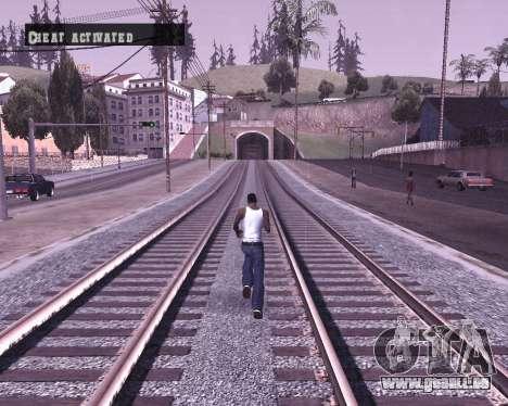 Colormod by Shane pour GTA San Andreas quatrième écran