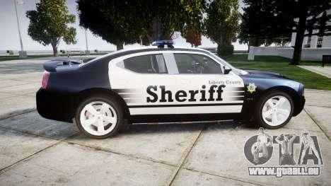 Dodge Charger SRT8 2010 Sheriff [ELS] pour GTA 4 est une gauche