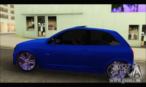 Chevrolet Celta Spirit VHC-E 2011 pour GTA San Andreas laissé vue