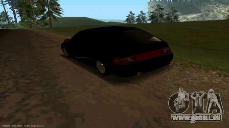 VAZ 21123 Bad Boy für GTA San Andreas zurück linke Ansicht