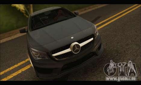 Mercedes Benz CLA 250 2014 pour GTA San Andreas vue arrière