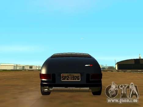 Volkswagen SP2 Original pour GTA San Andreas vue intérieure