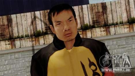 GTA 4 Skin 67 pour GTA San Andreas troisième écran