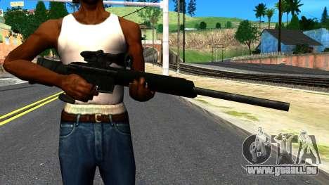 Sniper Rifle from GTA 4 für GTA San Andreas dritten Screenshot