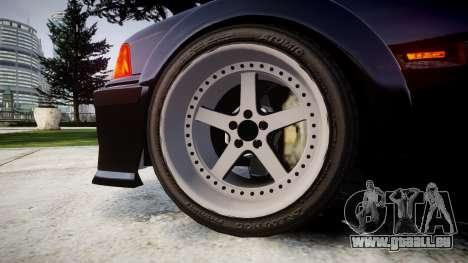 BMW E36 M3 Duck Edition pour GTA 4 Vue arrière
