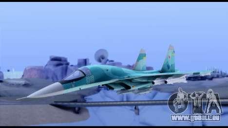SU-34 Fullback pour GTA San Andreas