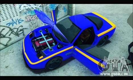 Coquette (GTA IV) pour GTA San Andreas vue de droite