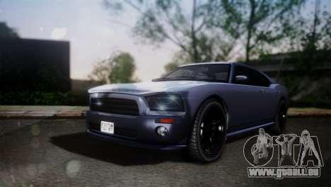 Bravado Buffalo Sedan v1.0 (HQLM) pour GTA San Andreas