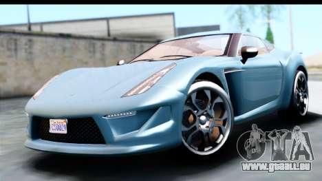 GTA 5 Grotti Carbonizzare v3 (IVF) für GTA San Andreas