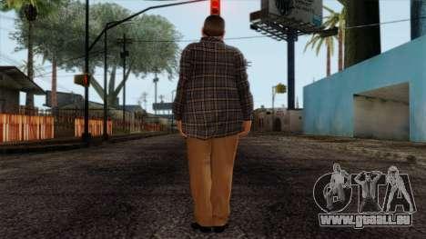GTA 4 Skin 72 pour GTA San Andreas deuxième écran