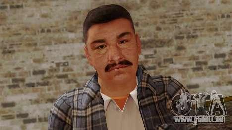 GTA 4 Skin 72 pour GTA San Andreas troisième écran