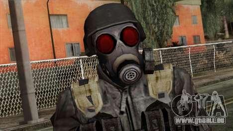 Resident Evil Skin 3 pour GTA San Andreas troisième écran