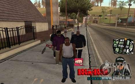 C-HUD Boom-Boom pour GTA San Andreas deuxième écran