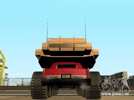 Tink Tank für GTA San Andreas Innenansicht