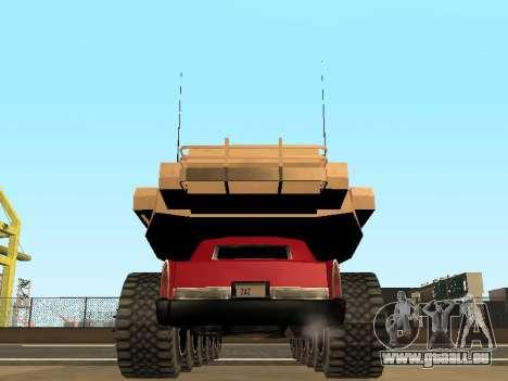 Tink Tank pour GTA San Andreas vue intérieure
