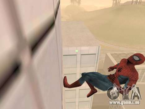 Spiderman 3 Crawling für GTA San Andreas zweiten Screenshot