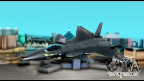 Chenyang J-20 BF4 pour GTA San Andreas