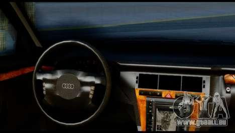 Audi A8 2002 für GTA San Andreas zurück linke Ansicht
