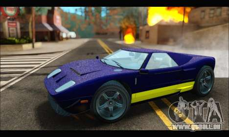 Vapid Bullet Gt (GTA IV) (LC Plate) pour GTA San Andreas laissé vue