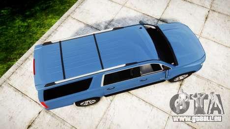 Chevrolet Suburban 2015 pour GTA 4 est un droit