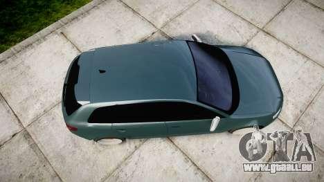 Audi RS3 Stanced für GTA 4 rechte Ansicht