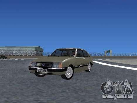 Chevrolet Chevette Hatch pour GTA San Andreas salon