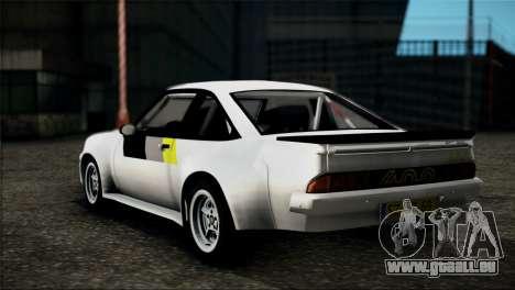Opel Manta 400 für GTA San Andreas linke Ansicht