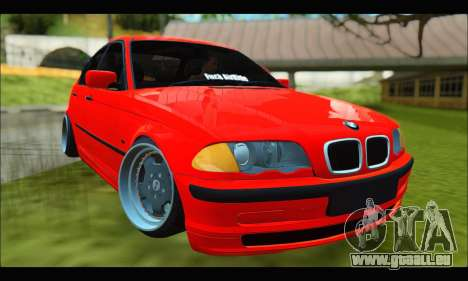 BMW e46 Sedan V2 pour GTA San Andreas