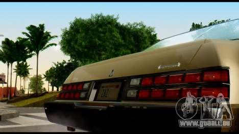GTA 4 Esperanto pour GTA San Andreas vue de droite