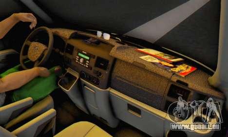 Ford Transit Air pour GTA San Andreas laissé vue