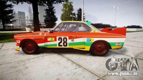 BMW 3.0 CSL Group4 [28] pour GTA 4 est une gauche