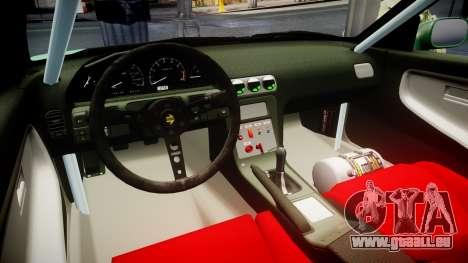 Nissan 240SX StreetStyle pour GTA 4 Vue arrière