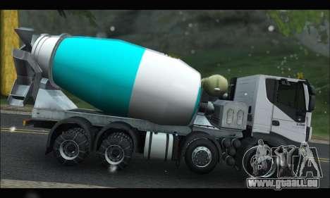 Iveco Trakker 2014 Concrete Snow pour GTA San Andreas laissé vue