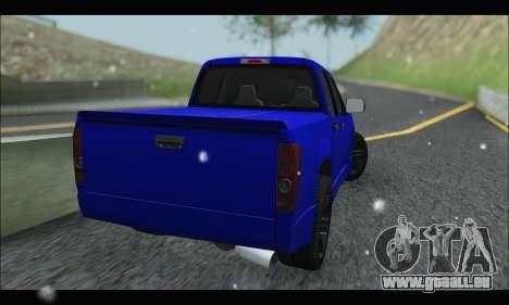 Chevrolet Colorado Codered 2004 für GTA San Andreas zurück linke Ansicht