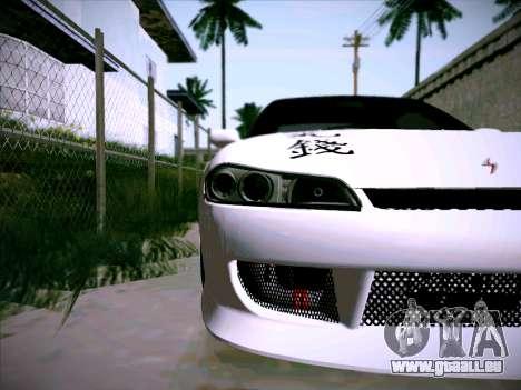 Nissan Silvia S15 Roux pour GTA San Andreas vue intérieure