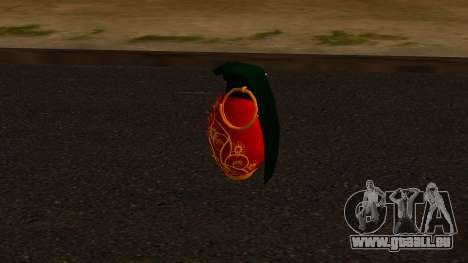 Weihnachten Granatapfel für GTA San Andreas