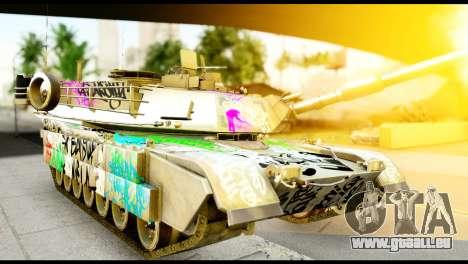 M1A2 Abrams pour GTA San Andreas vue de droite