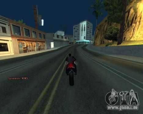 Car Speed pour GTA San Andreas sixième écran