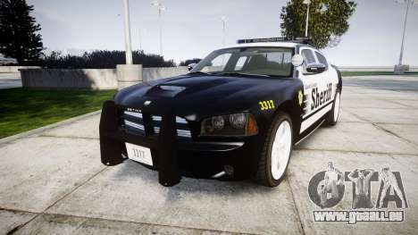 Dodge Charger SRT8 2010 Sheriff [ELS] rambar für GTA 4