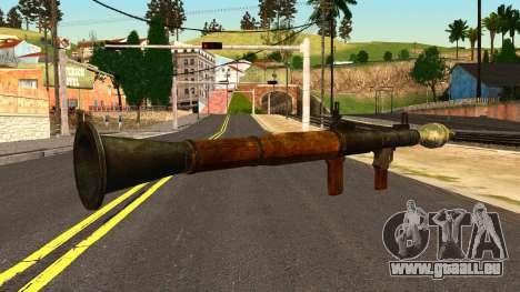 Rocket Launcher from GTA 4 pour GTA San Andreas deuxième écran