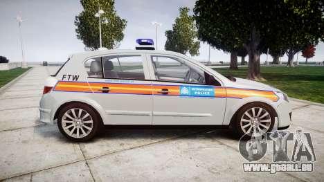 Vauxhall Astra 2010 Police [ELS] Whelen Liberty pour GTA 4 est une gauche