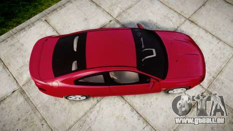 Pontiac GTO 2006 18in wheels pour GTA 4 est un droit