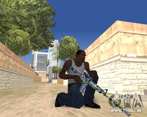 Graffity weapons für GTA San Andreas siebten Screenshot