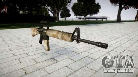 Die M16A2 Gewehr [optisch] nevada für GTA 4
