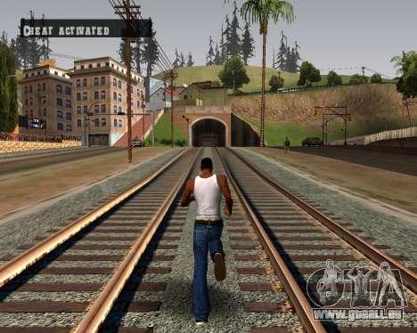 Colormod Dark Low pour GTA San Andreas troisième écran
