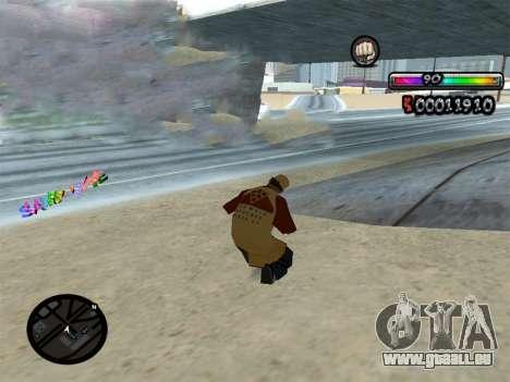 C-HUD durch nester_n für GTA San Andreas