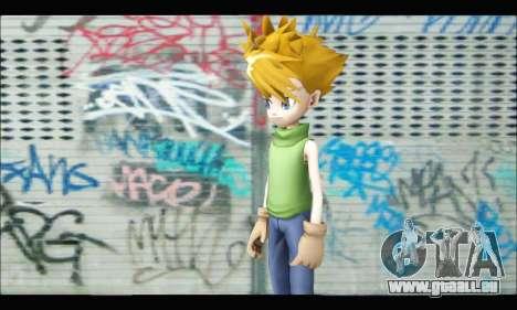 Yamato Ishida (Digimon) pour GTA San Andreas